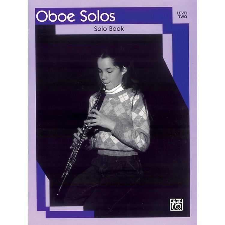 AlfredOboe Solos Level II Solo Book