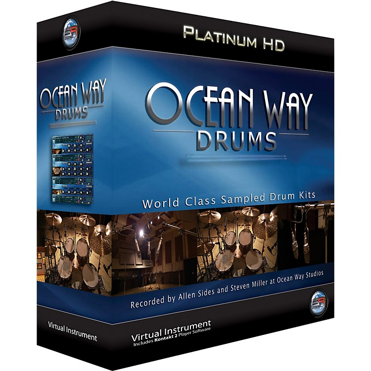 ILIO Ocean Way Drums Platinum - Mac
