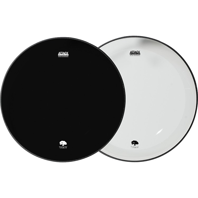 AttackOcheltree No Overtone Bass Drumhead Pack