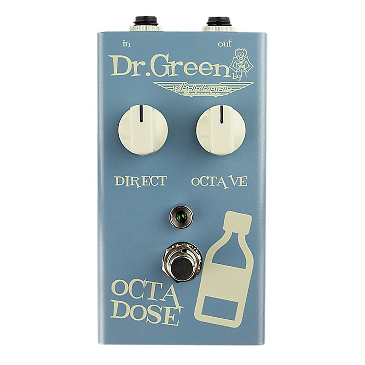 Dr. Green Octa Dose Octave Bass Effects Pedal