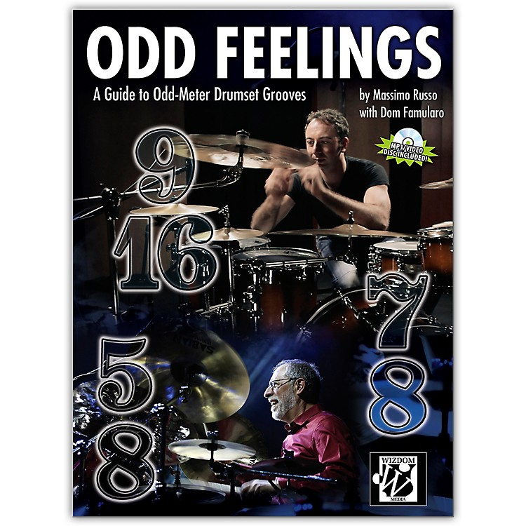 Alfred Odd Feelings Drum Set Book & CD