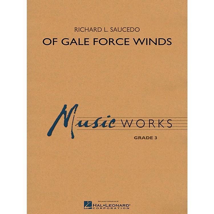 Hal LeonardOf Gale Force Winds - MusicWorks Grade 3 Concert Band