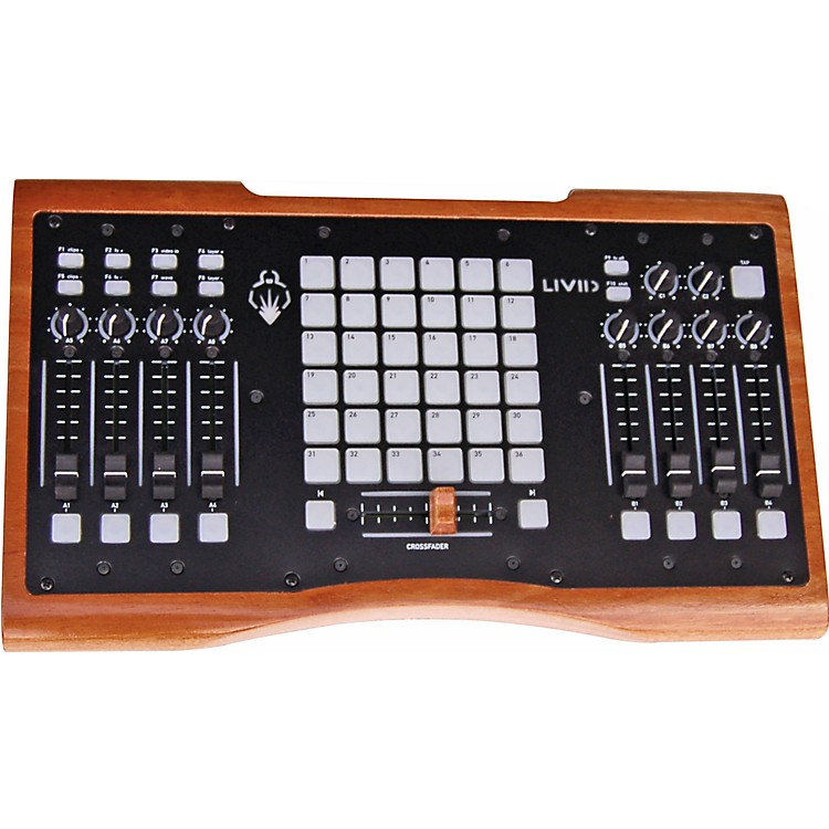 LividOhm Wood MIDI Controller