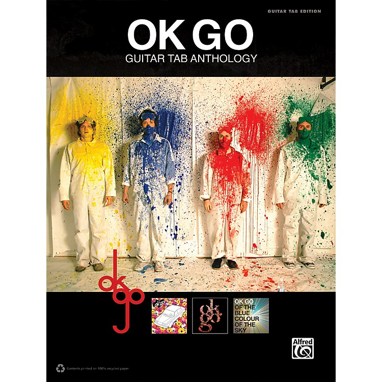 Alfred Ok Go Guitar TAB Anthology