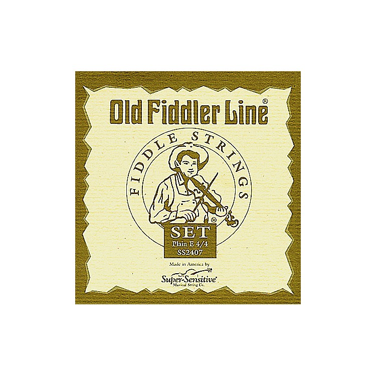 Super Sensitive Old Fiddler Violin Strings G, Medium 4/4 Size