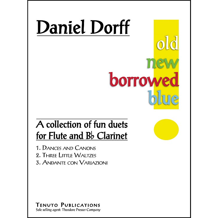 Carl Fischer Old New Borrowed Blue Book