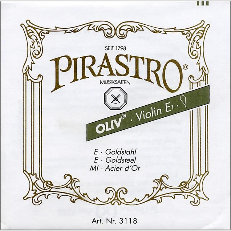 PirastroOliv Series Violin E String4/4 Medium Ball End