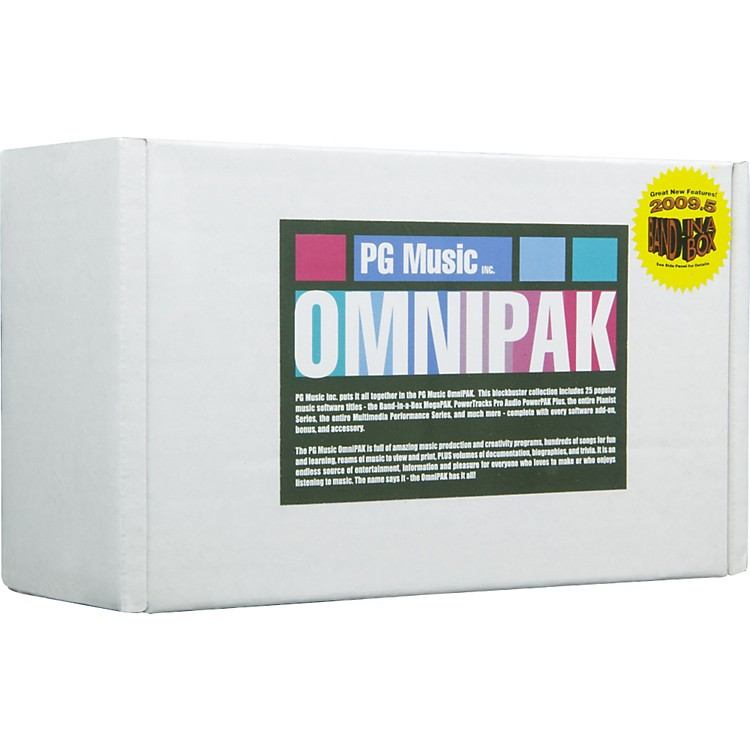 PG Music OmniPAK 2009 Software for Windows Windows