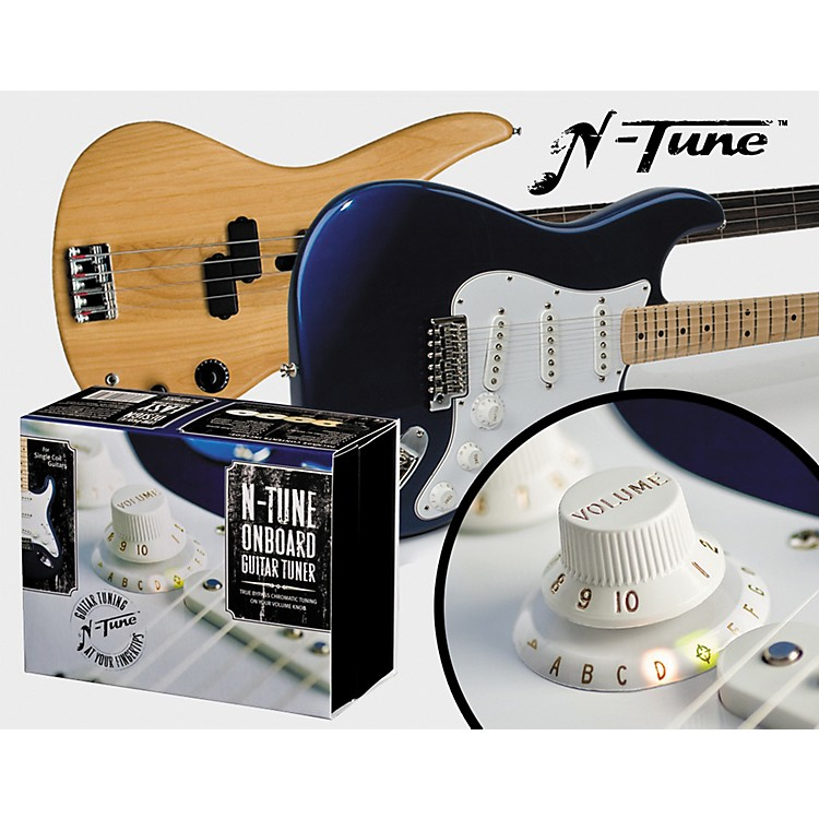 N-Tune On Board Chromatic Electric Guitar Tuner