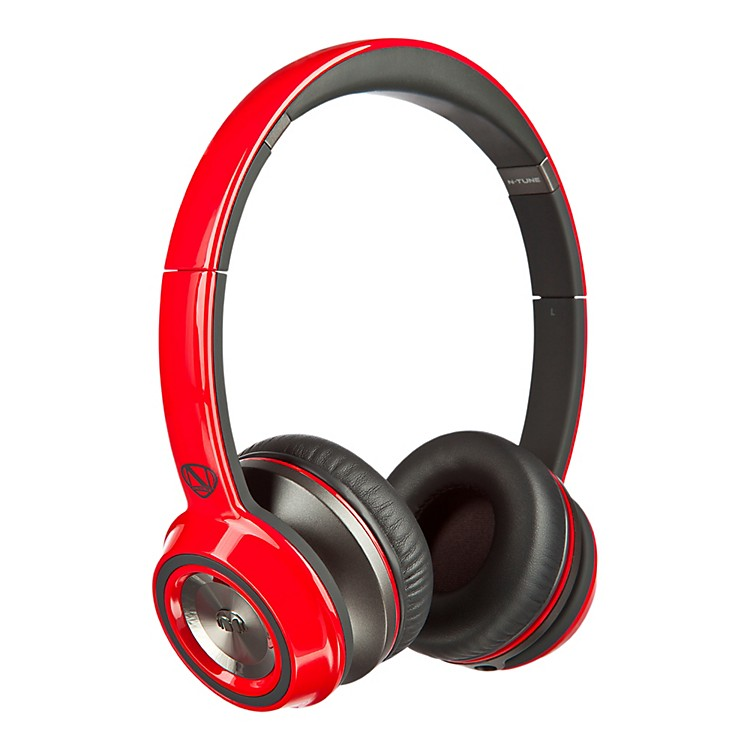 Monster On-Ear Headphones Cherry Red