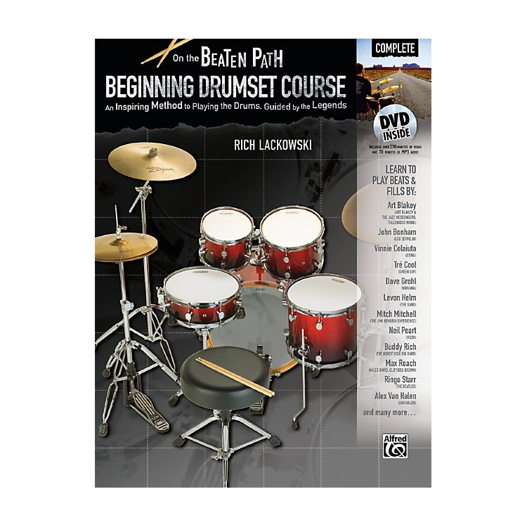 AlfredOn the Beaten Path Beginning Drumset Course Complete Book & DVD ROM