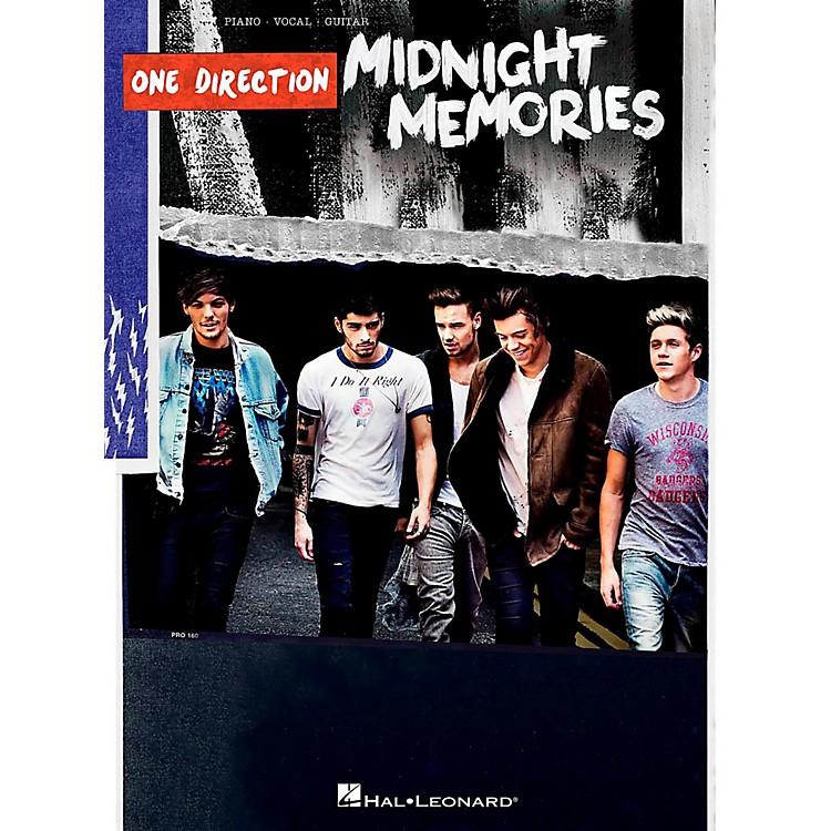 Hal LeonardOne Direction - Midnight Memories Piano/Vocal/Guitar Songbook