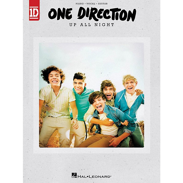 Hal LeonardOne Direction - Up All Night for Piano/Vocal/Guitar