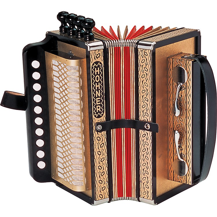 Hohner One Row Cajun Accordion Key of D