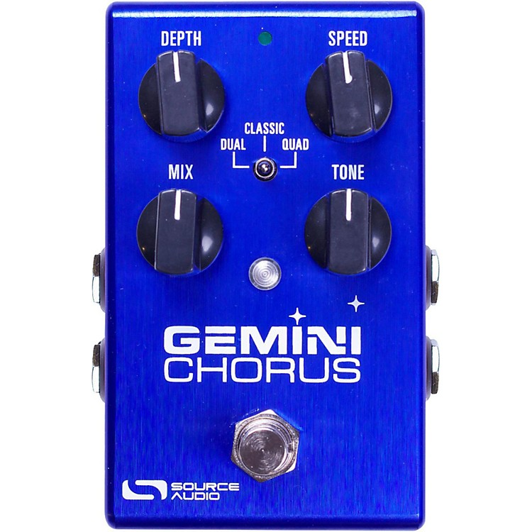 Source AudioOne Series Gemini Chorus Guitar Pedal