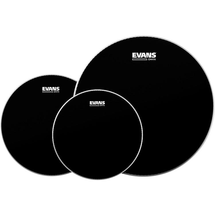 EvansOnyx 2 Drumhead Pack