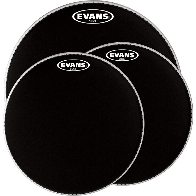 EvansOnyx Resonant Bass Drumhead