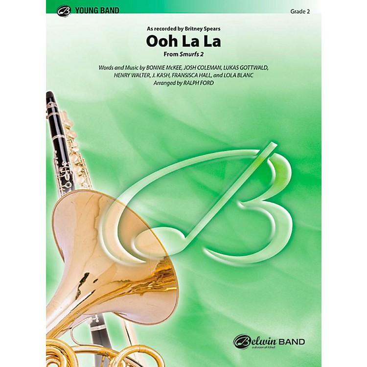 AlfredOoh La La (from Smurfs 2) Concert Band Level 2 Set