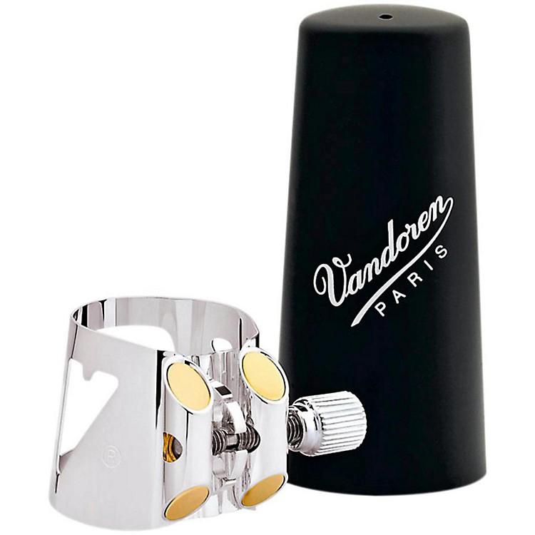 VandorenOptimum Clarinet LigaturesAlto Clarinet - Silver-Plated with Plastic Cap
