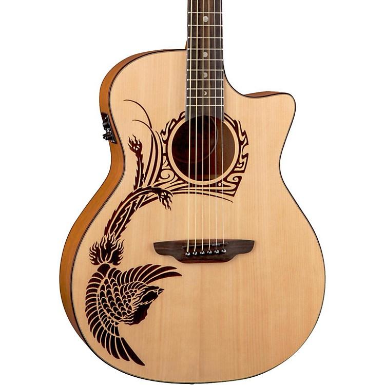 Luna GuitarsOracle Phoenix 2 Acoustic-Electric GuitarNatural