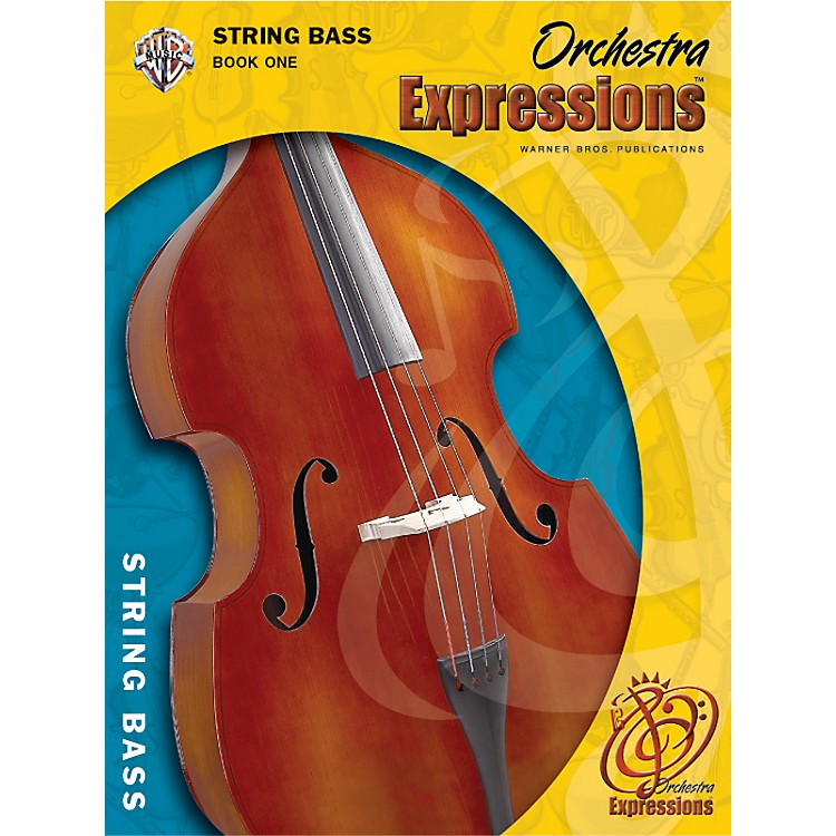 Alfred Orchestra Expressions Book One Student Edition String Bass Book & CD 1