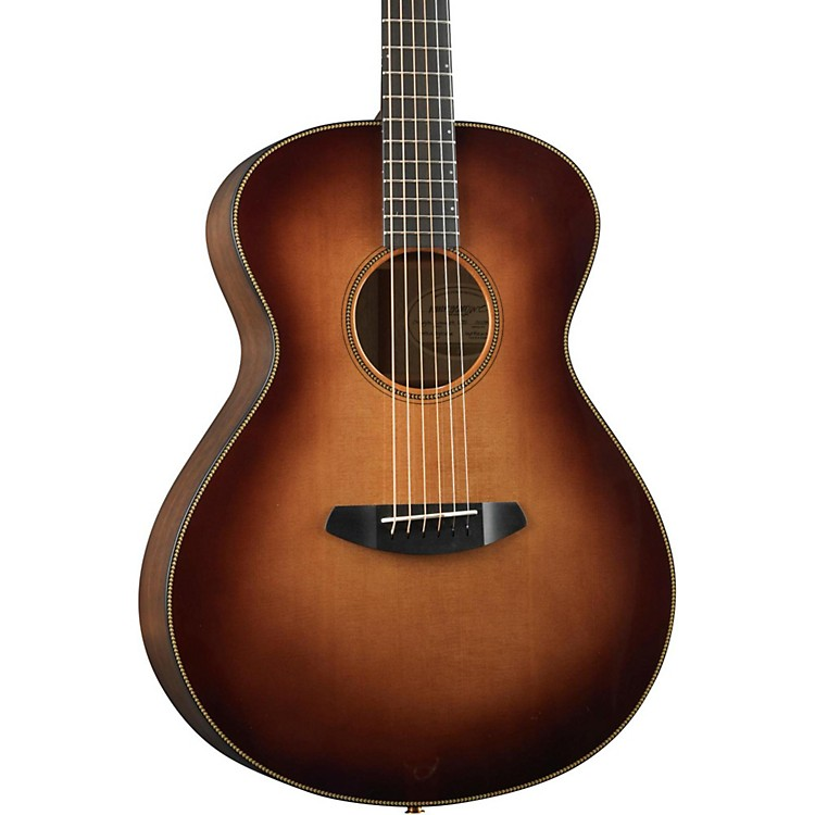 Breedlove Oregon Concert Burst Acoustic-Electric Guitar Whiskey Burst