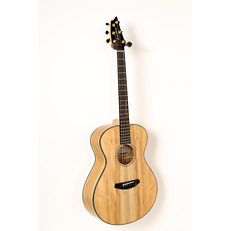 Breedlove Oregon Concert Limited Myrtlewood 6-String Acoustic-Electric Guitar Natural 888365835686