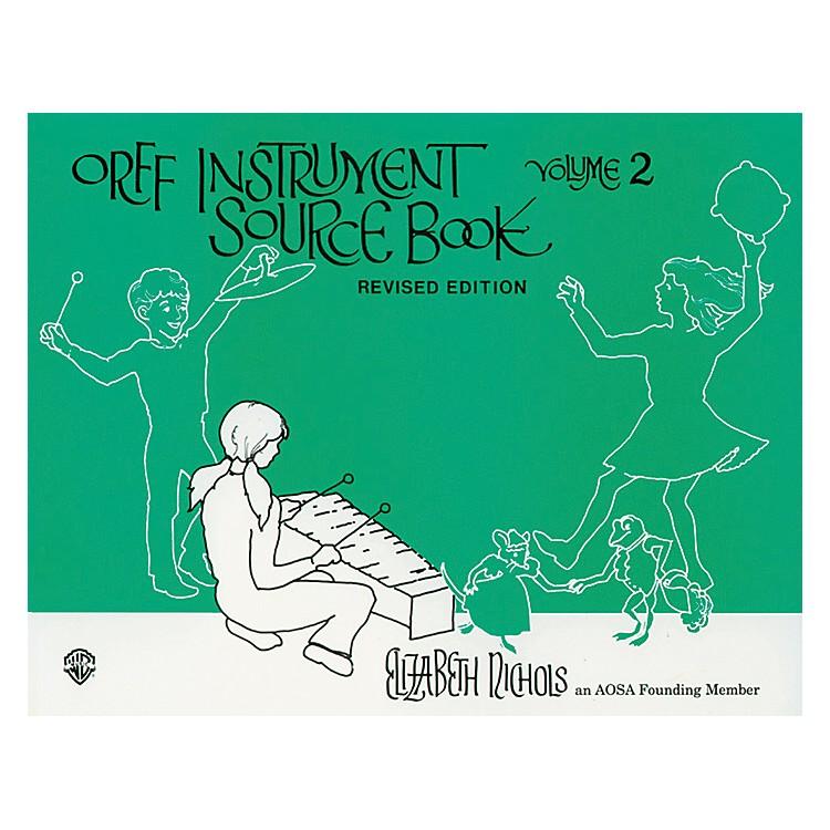 AlfredOrff Instrument Source Book Volume 2