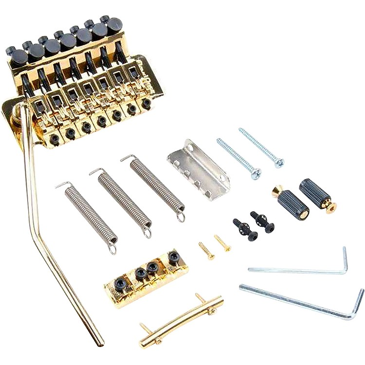 Floyd Rose Original Series 7-String Tremolo Bridge Gold