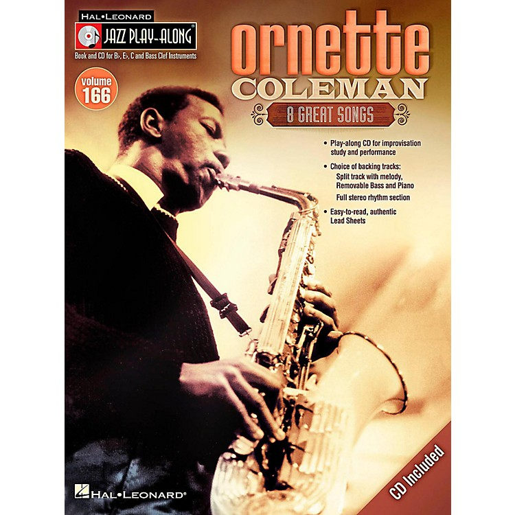 Hal Leonard Ornette Coleman - Jazz Play-Along Volume 166 Book/CD
