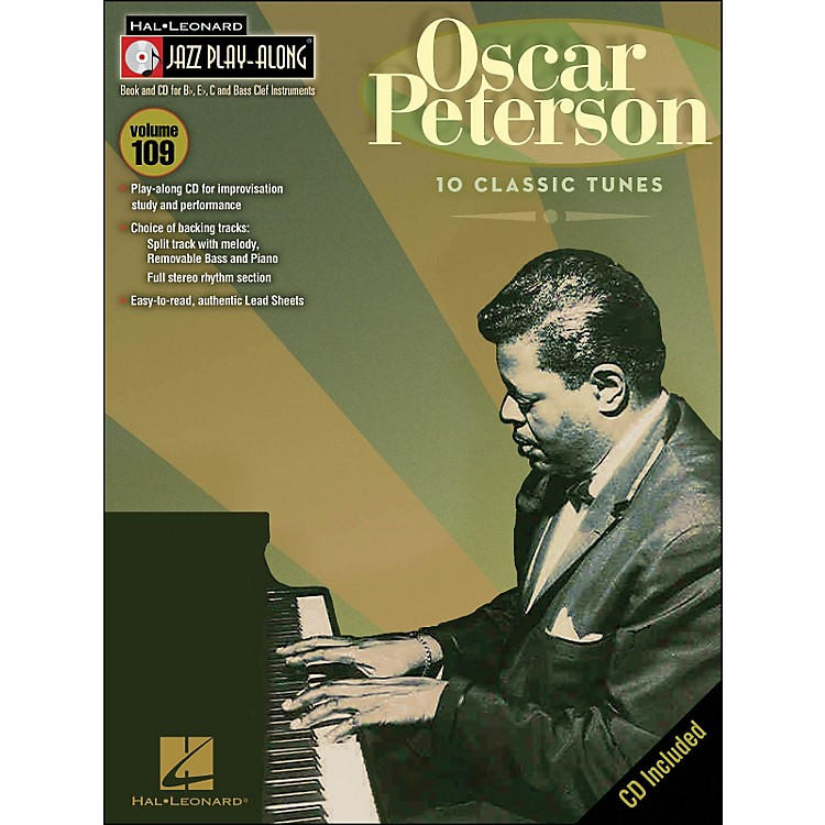 Hal Leonard Oscar Peterson Jazz Play- Along Volume 109 Book/CD