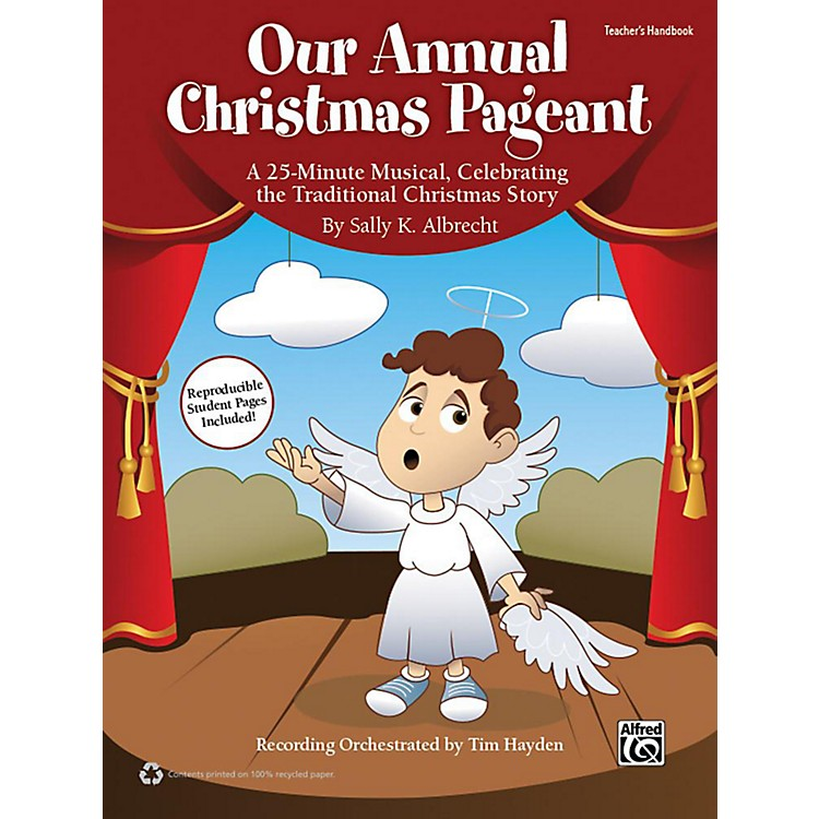Alfred Our Annual Christmas Pageant Book & CD