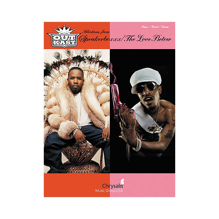 Hal Leonard Outkast - Selections from Speakerboxxx/The Love Below Piano, Vocal, Guitar Songbook