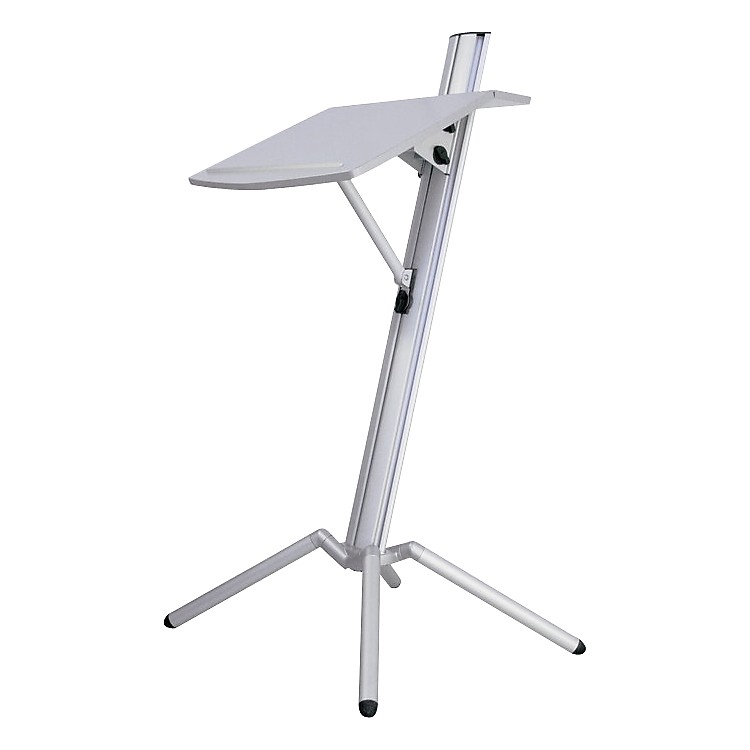 K&M Ovation Portable Lectern White