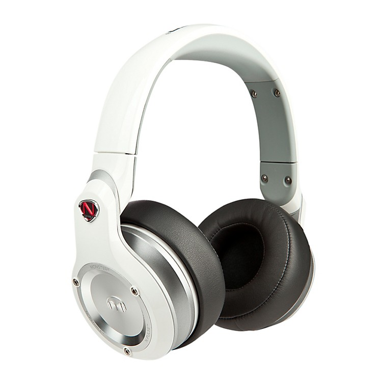 Monster Over-Ear Headphones White