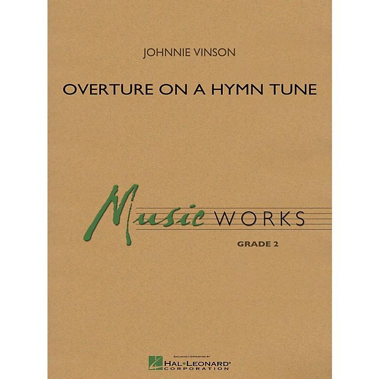 Hal LeonardOverture On A Hymn Tune - Music Works Series Grade 2