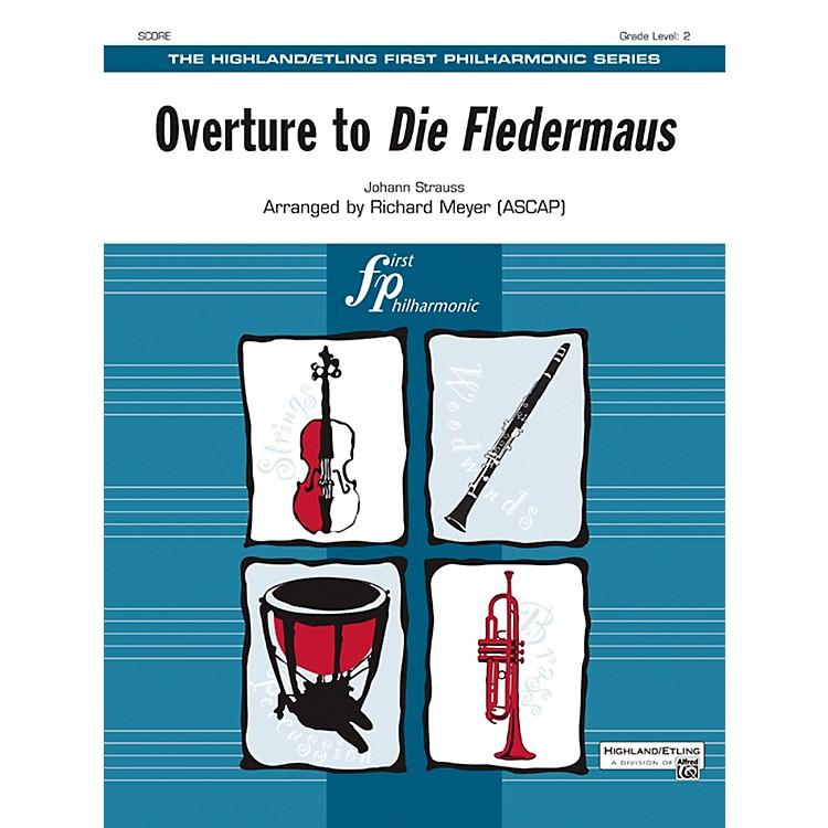 AlfredOverture to Die Fledermaus String Orchestra Grade 2 Set