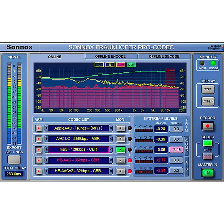Sonnox Oxford Fraunhofer Pro-Codec (Native) Software Download