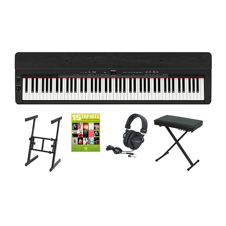 YamahaP-155 Black Keyboard Package 2