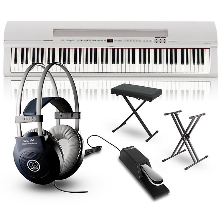 YamahaP-255 88-Key Digital Piano PackagesWhitePerformance Package