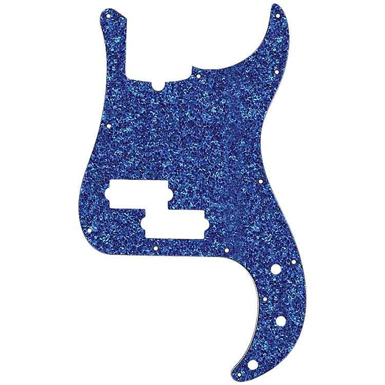 D'AndreaP-Bass PickguardBlue Sparkle