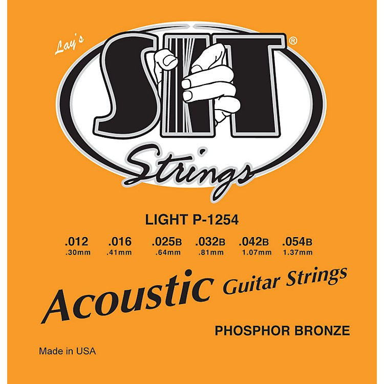 SIT Strings P1254 Light Phosphor Bronze Acoustic Guitar Strings
