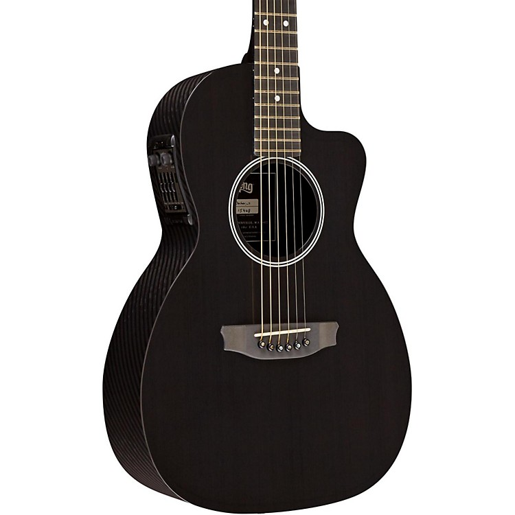 RainSong P14 6-string Parlor with 14-fret N2 neck Clear Gloss