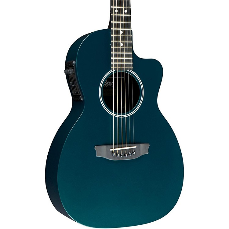 Rainsong P14 6-string Parlor with 14-fret N2 neck Green