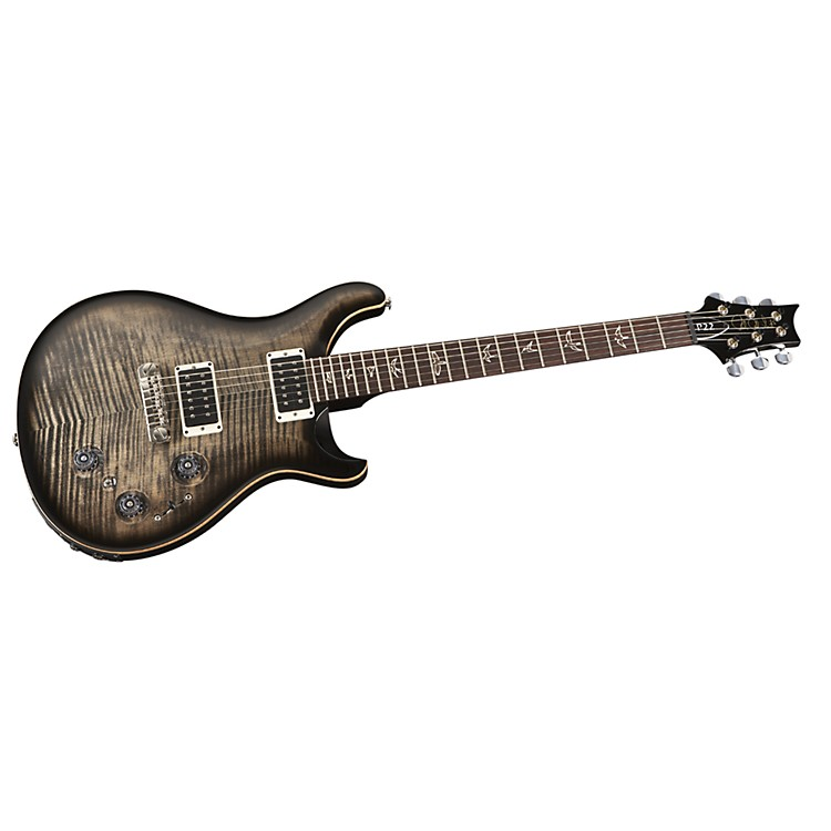 PRS P22 Flame Maple Top Electric Guitar Gold Burst Gold Hardware