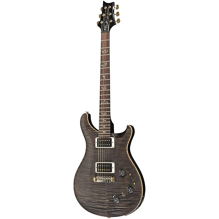PRSP22 Pattern Regular Neck Flame 10-Top with Hybrid Hardware Electric GuitarFaded Gray Black