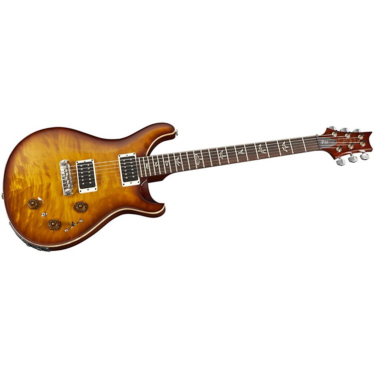 PRS P22 Quilt Maple Top Electric Guitar Gold Burst Nickel Hardware