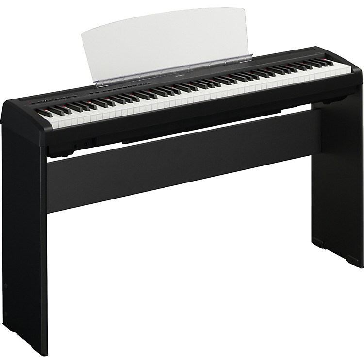 Yamaha P95 88 Key Digital Piano with L85 Stand Black