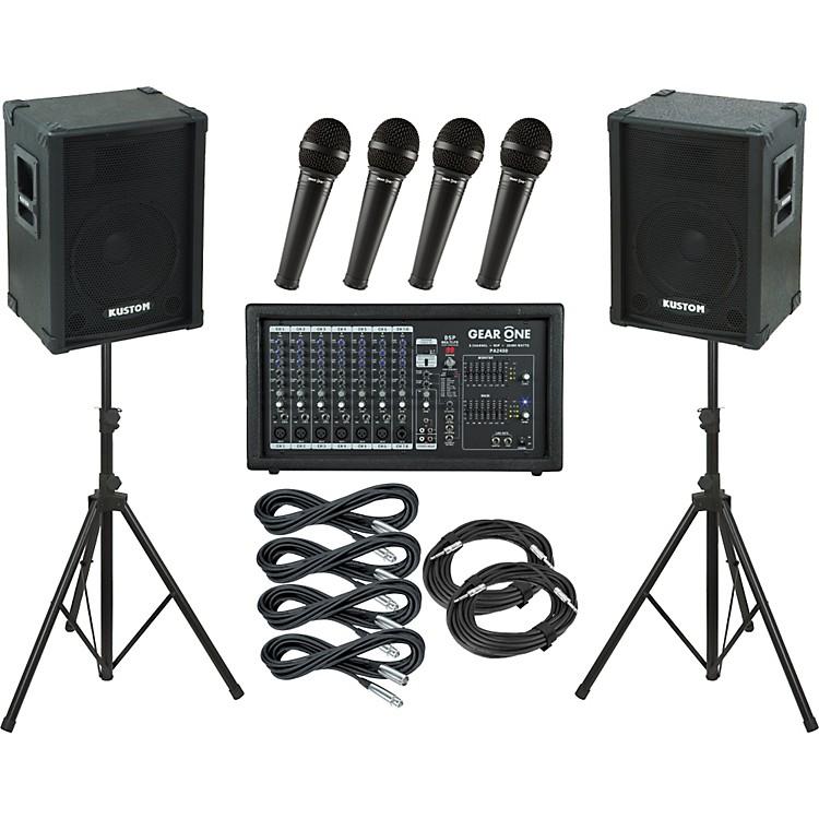 Gear OnePA2400 / Kustom KPC12 PA Package
