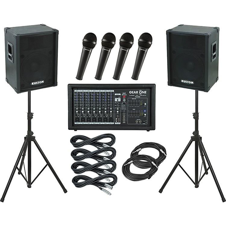 Gear OnePA2400 / Kustom KPC15 PA Package